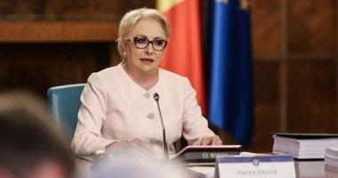 Dăncilă, la şedinţa de Guvern: Adoptăm astăzi proiectul de modificare a OUG 114. ROBOR va fi înlocuit cu un nou indicator
