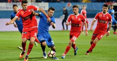 FC Viitorul - Dinamo, scor 0-0, în play-off