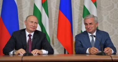 Vizita lui Putin în Abhazia, considerată nepotrivită