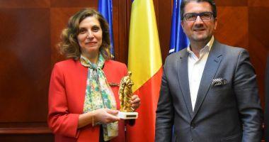 Ambasadorul Turciei, vizită la Primăria Constanța