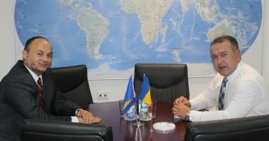 Ambasadorul Bosniei - Herzegovina, în vizită la CCINA Constanţa
