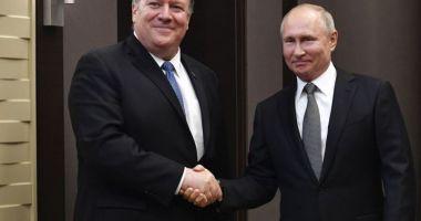 """Vladimir Putin: """"Rusia vrea să restabilească relaţii complete cu SUA"""""""
