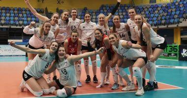 Volei / Echipa CSM Volei Alba Blaj s-a calificat în finala Cupei Challenge