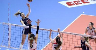 Volei / Alexia Căruţaşu, 47 de puncte într-o semifinală de cupă europeană!