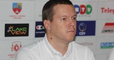"""Volei / Antrenorul CVM Tomis, Radovan Gacic: """"Obiectivul nostru este de a face paşi mici, de a progresa de la meci la meci"""""""