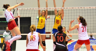 Volei feminin / Echipa României s-a calificat la Campionatul European Under-18