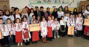 """Voluntarii străini le-au dat lecţii elevilor de la Şcoala """"Mihail Coiciu"""""""