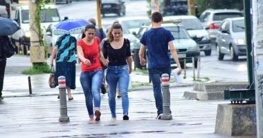 Ploi şi vijelii, la Constanţa