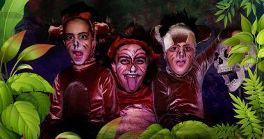 """Spectacol pentru copii. Întâlnire cu Mowgli, din """"Cartea Junglei"""""""