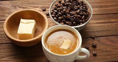 Vreți să slăbiți? Beți cafea cu unt!