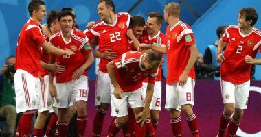 CM 2018. Rusia, prima echipă calificată în optimi, după 3-1 cu Egipt