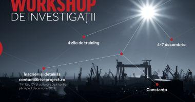 """Workshop de investigații susținut de RISE Project pentru studenții de la """"Ovidius"""""""