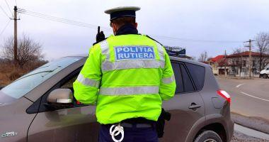 Șofer cu ALCOOLEMIE RECORD și fără permis, surprins în Medgidia, REȚINUT DE POLIȚIE