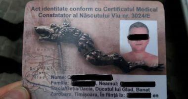 """Șofer amendat de politiști, după ce le-a prezentat un buletin de """"născut viu din Ducatul lui Glad"""""""
