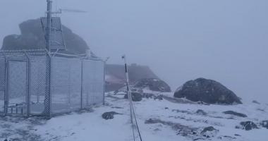 VIDEO / Iarnă în toată regula! Zăpadă de câţiva centimetri în România