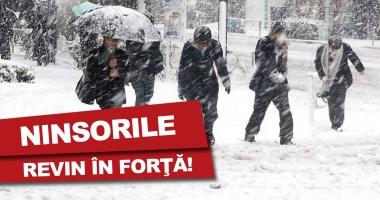 Foto : NINSORILE REVIN ÎN FORŢĂ LA CONSTANŢA! Atenţionarea meteorologilor pentru următoarele zile