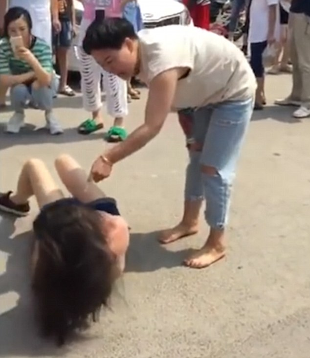 Two ladies extreme punch fisting and wrecking huge asshole 4