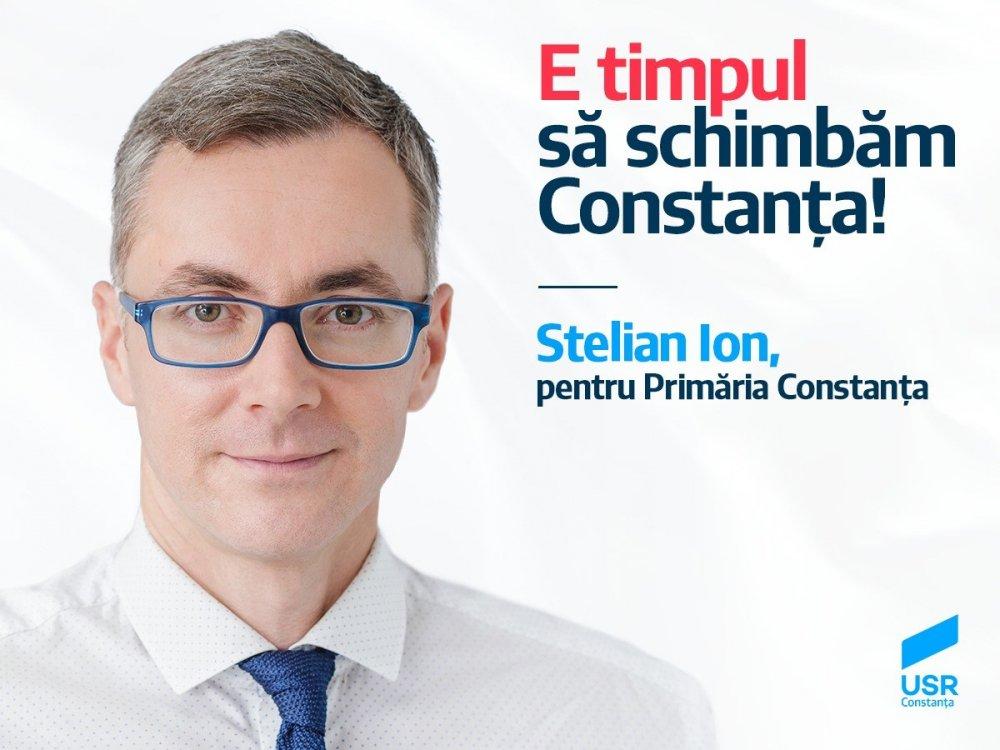 Stelian Ion, ales vicepreședinte USR - Realitatea de Constanța  |Stelian Ion