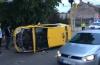 GALERIE FOTO / ACCIDENT RUTIER SPECTACULOS pe bulevardul Mamaia