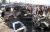 Atac cu bomb�, soldat cu 14 mor�i �i 25 r�ni�i