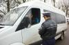 Poliţia va controla microbuzele de transport persoane