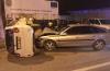 Accident rutier: o mamă cu doi copii, la spital