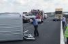 Grav accident pe autostradă / Sunt şapte victime! Planul roşu de intervenţie, activat